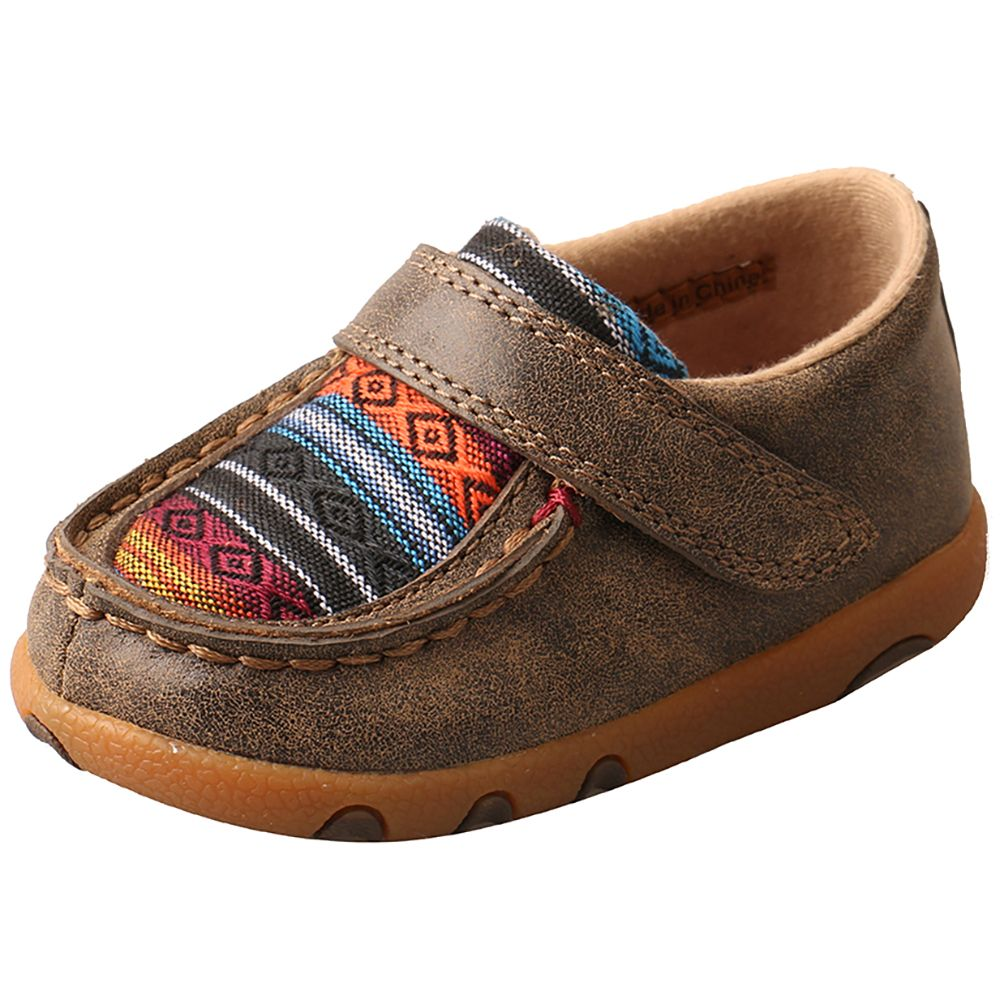44ac2c30a Twisted X Bomber Serape Infant Velcro Shoe | {Thomas} | Baby boy ...