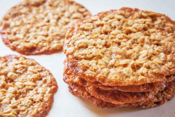 Haferflocken Lace Cookies