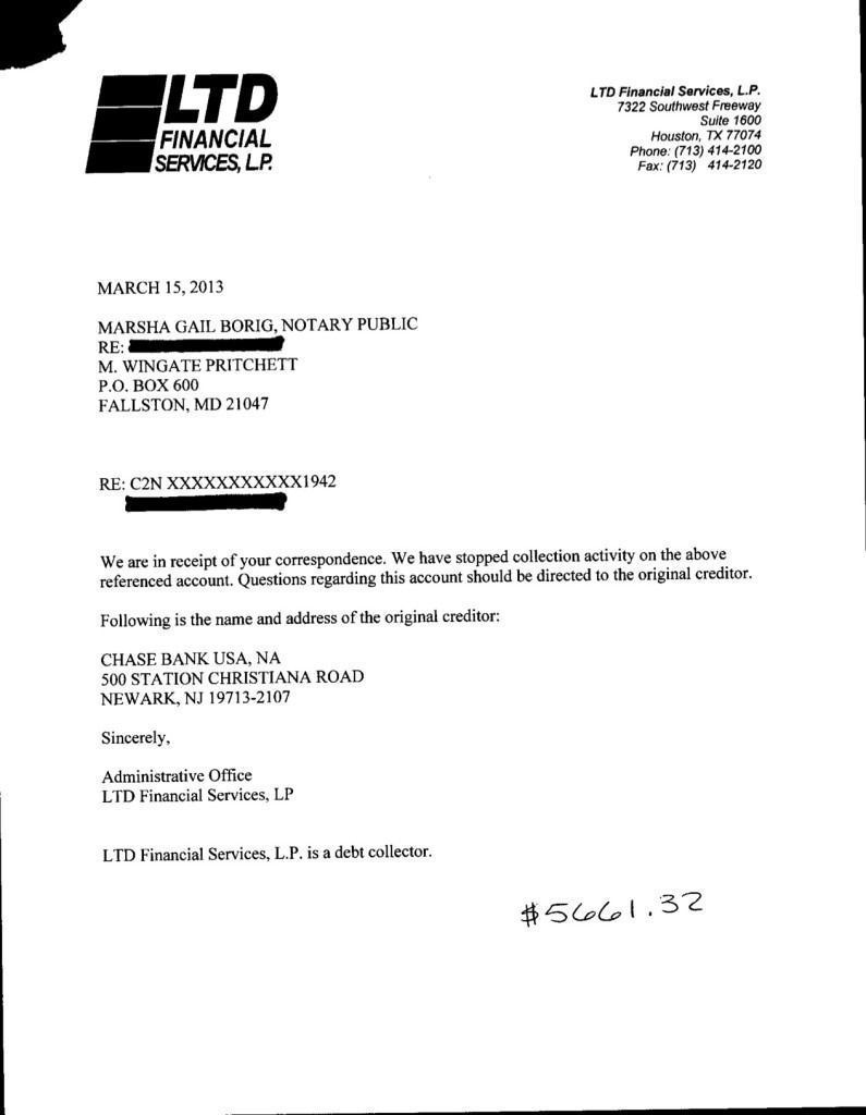 sample debt validation letter best business template example ...