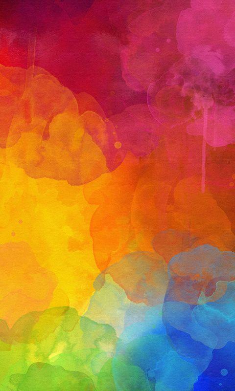 Colorful Hd Wallpaper Absztrakt Festmeny Absztrakt Szinek