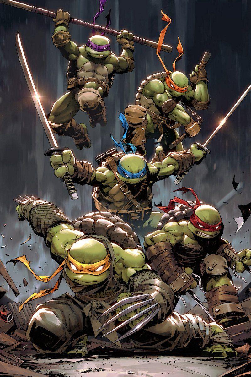 Teenage Mutant Ninja Turtles 52 APRIL O/'NEIL AF Cover Variant 1st Jennika!