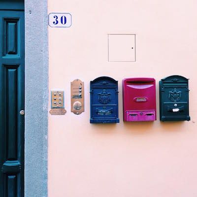 cassette delle lettere Firenze di valinapostit