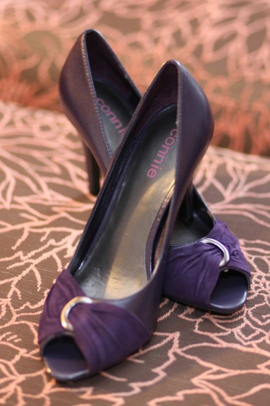 Eggplant shoes for her   Eggplant to Purple Vow Renewal   Pinterest ...