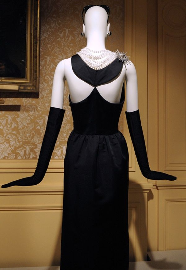 Breakfast at Tiffany's the back of the dress