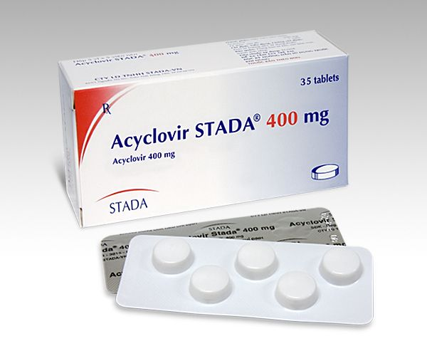 acyclovir may be used to reduce pain and speed the curing of sores, Skeleton
