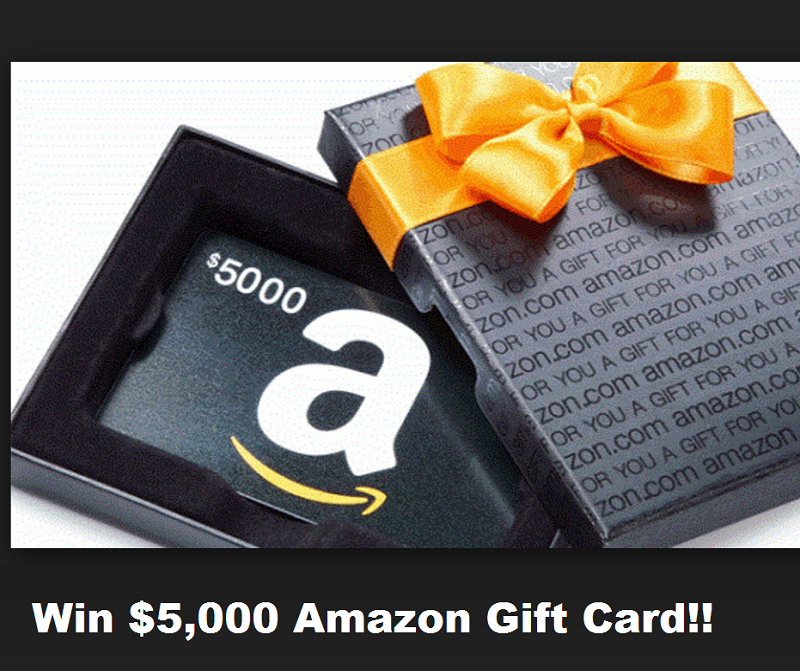 Win Free Shopping Sprees At Amazon Enter Here Win A 5 000 Amazon Gift Card From 5 Second Rule On T Amazon Gift Card Free Amazon Gifts Free Amazon Products