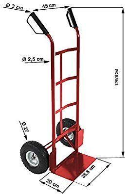 Manueller Zweirad-LKW zum Laden schwerer Produkte mit 200 kg: Amazo
