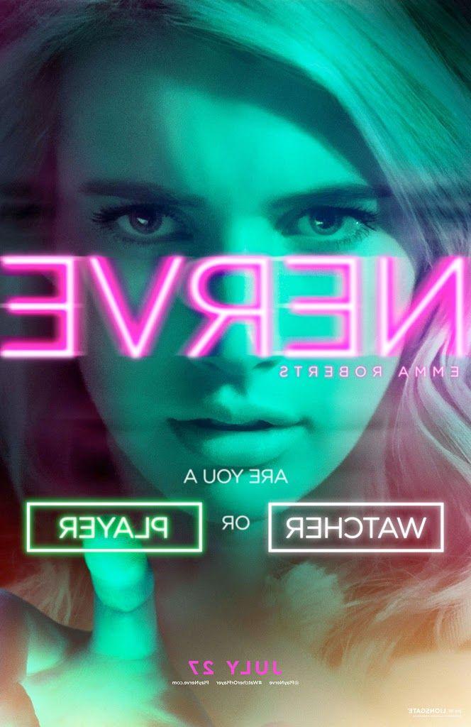 NERVE movie poster (Emma Roberts)