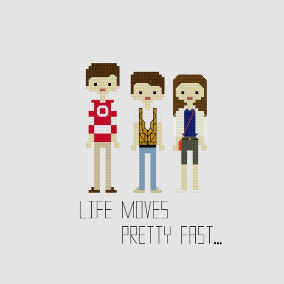 Ferris Bueller's Day Off by YouMakeMeSewHappy on Etsy, $3.99