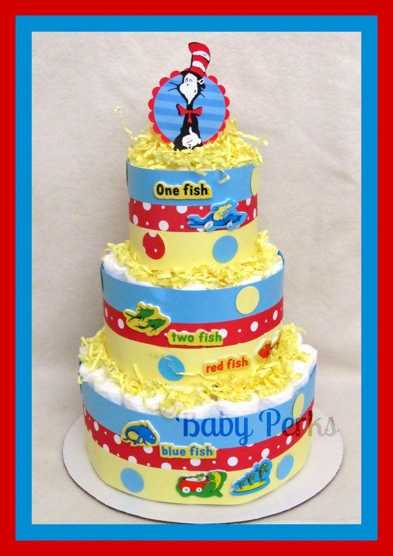 Dr Seuss Diaper Cake By Msperks On Etsy 38 99 Dr Seuss Baby
