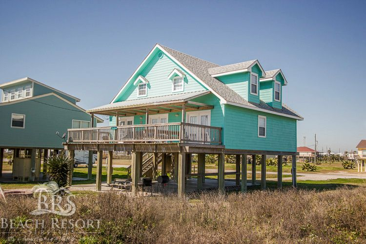 Terrific Moondancer Texas Beach House Rental In Surfside Beach Download Free Architecture Designs Sospemadebymaigaardcom