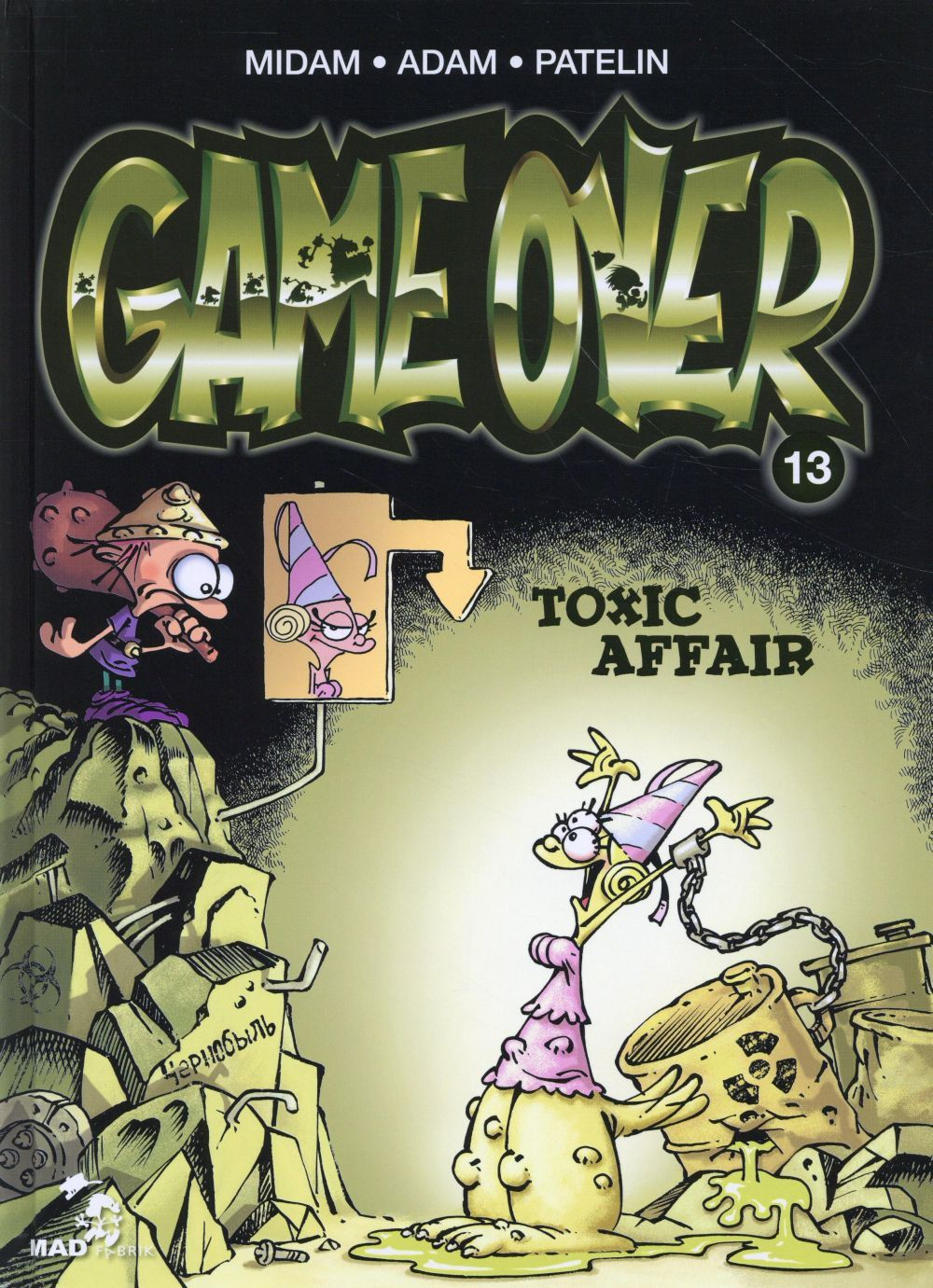 Couverture Game Over Tome 13 Kid Paddle Livre Et Planete Bd
