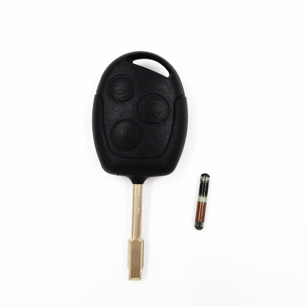 433mhz 4d60 Chip Keyless Entry Remote Key Fob Case 3 Buttons For