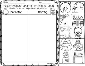 Character and Setting Sort | Book report templates, Nonfiction and ...