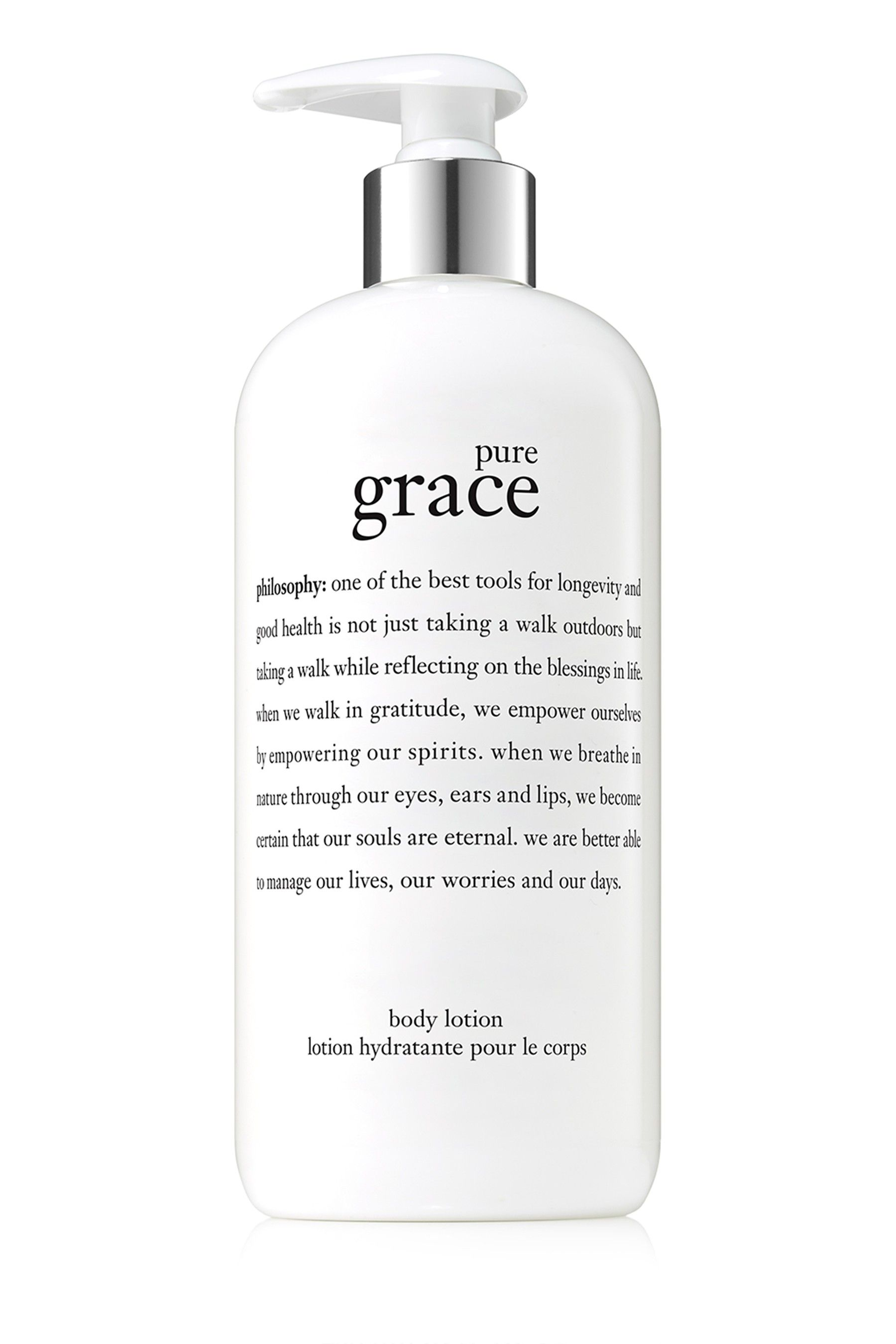 Womens Philosophy Pure Grace Body Lotion No Colour Philosophy Amazing Grace Firming Body Lotion Pure Products