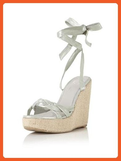 c277d7634f23 Delman Gema Women US 10 Green Wedge Sandal - Sandals for women ( Amazon  Partner-Link)