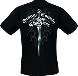 OCC Orange County Choppers T-Shirt Old School Dagger Tee schwarz