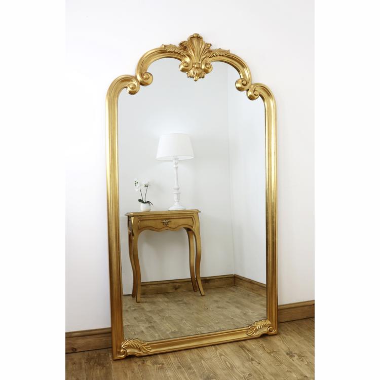 Pelazzo Gold Ornate Full Length Mirror 73 X 41 185cm X 104cm In 2020 Gold Floor Mirror Gold Mirror Living Room Antique Full Length Mirror