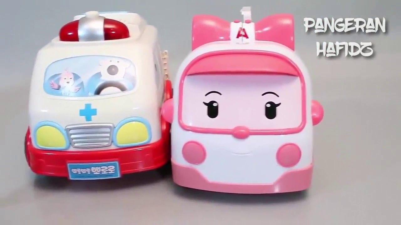 Main Dokter Dokteran Mobil Robot Pororo Mobil Mobilan Ambulance Mainan Anak Mobil Anak