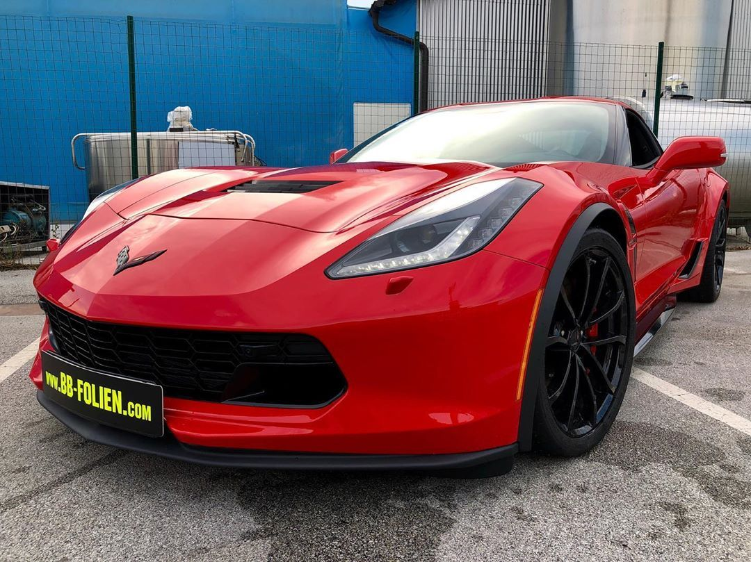 Latest wrapping wrap tuning work on corvette