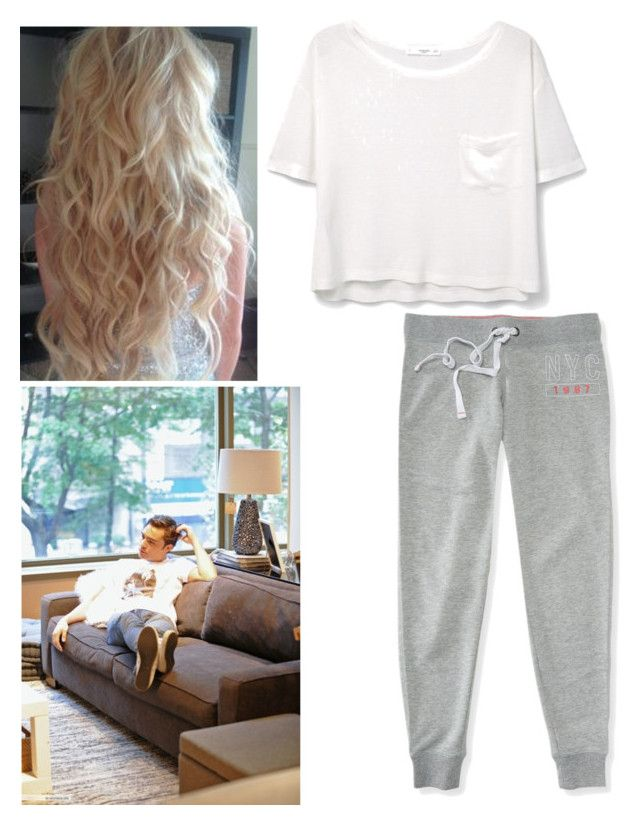 """""""Chill Day"""" by itsrose123 ❤ liked on Polyvore featuring MANGO, Aéropostale, gossipgirl, ChuckBass and EdWestwick"""