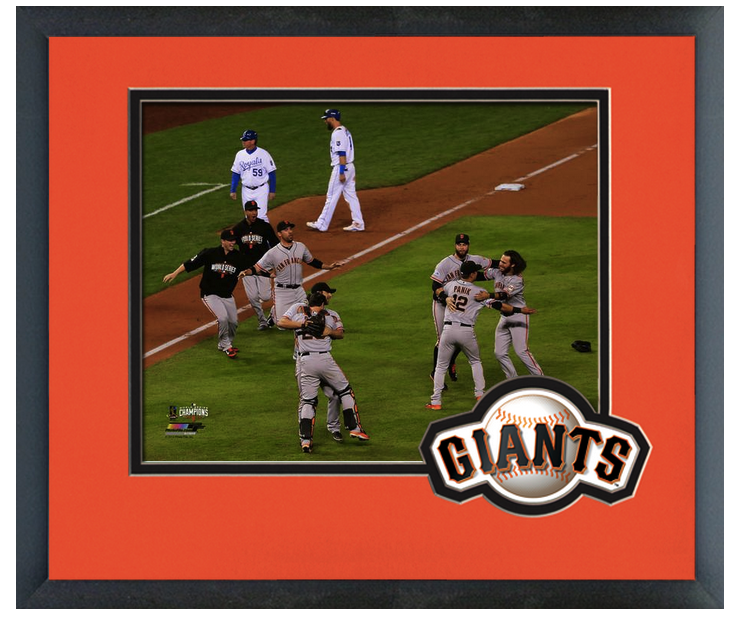 San Francisco Giants Celebrate Winning Game 7 of the 2014
