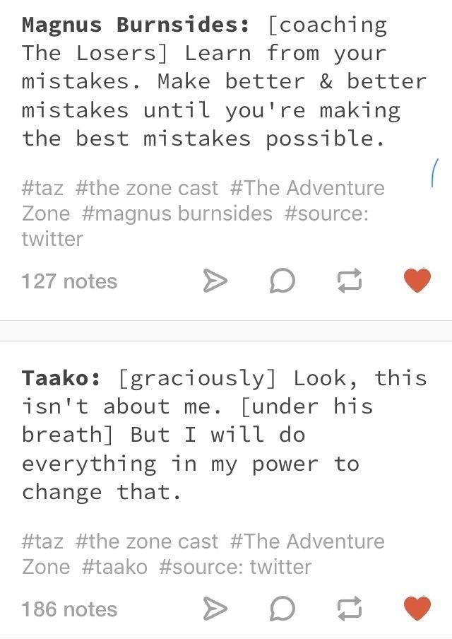 The Adventure Zone Quotes in 2020 | The adventure zone ...