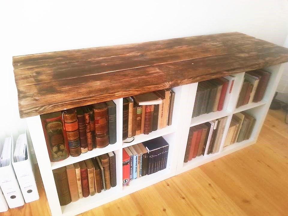 ikea regal im anderen look zuk nftige projekte pinterest regal m bel und ikea regal. Black Bedroom Furniture Sets. Home Design Ideas