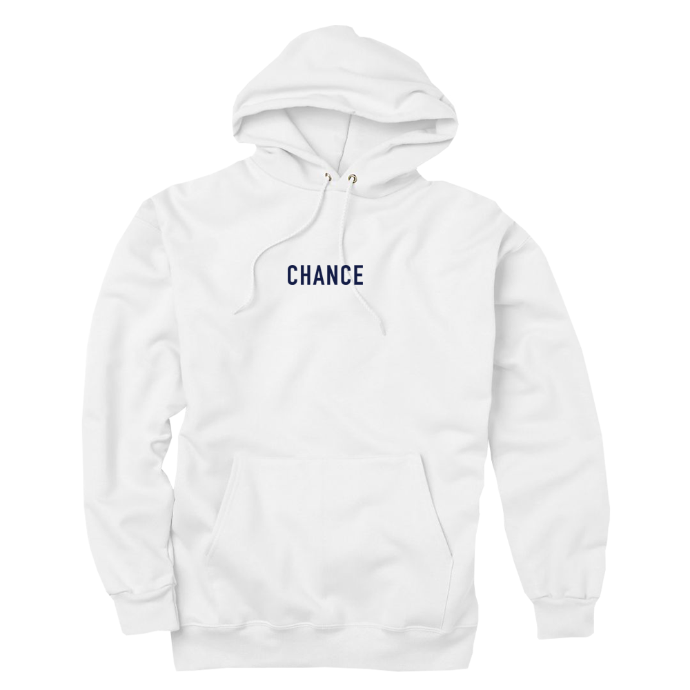Chance 3 Hoodie (White) — Chance the Rapper 28f3c62a98a6
