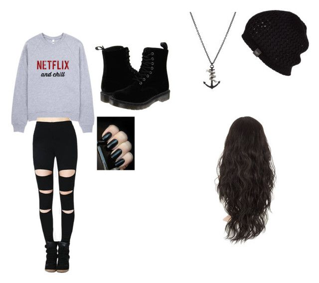 """""""just because im lazy"""" by queenlovebvb ❤ liked on Polyvore featuring Dr. Martens, Tema, UGG Australia, women's clothing, women's fashion, women, female, woman, misses and juniors"""