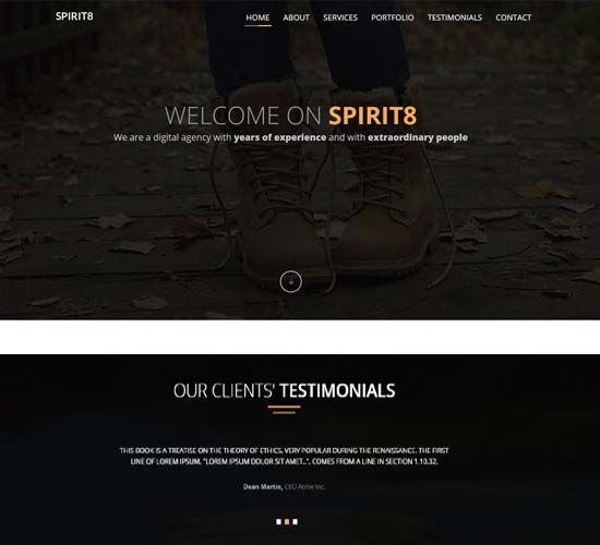 Bootstrap Layout Templates Simple Website Templates Free Website Templates Templates