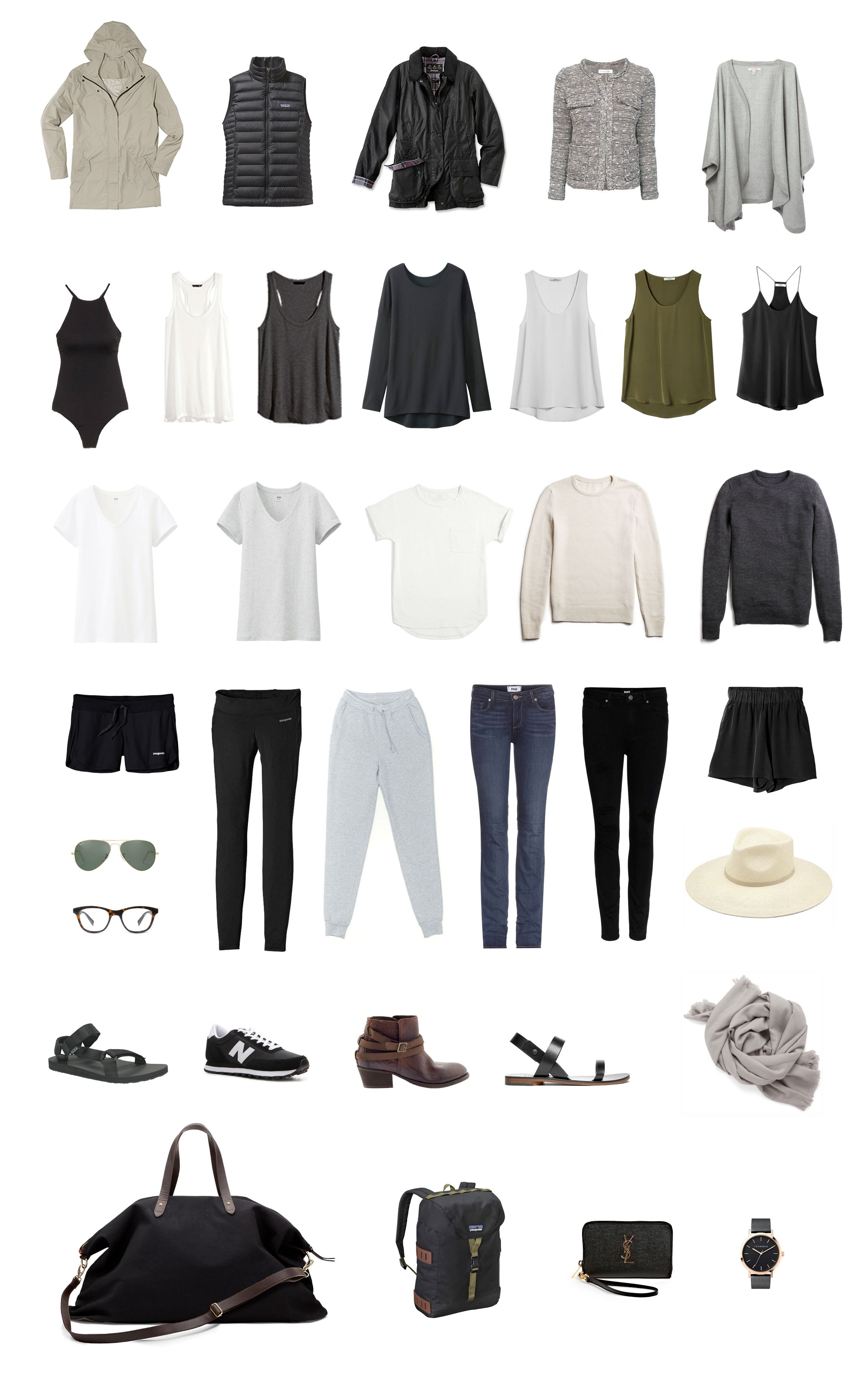 City to Coast: A Complete Guide On How To Pack Light For Stylish Women