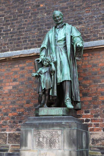 Künstler Hannover hannover altstadt marktkirche bödeker denkmal aufgestellt 1880