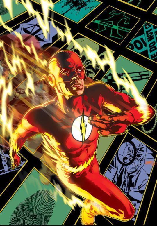 the Flash Tony Harris Personajes comic, Flash barry