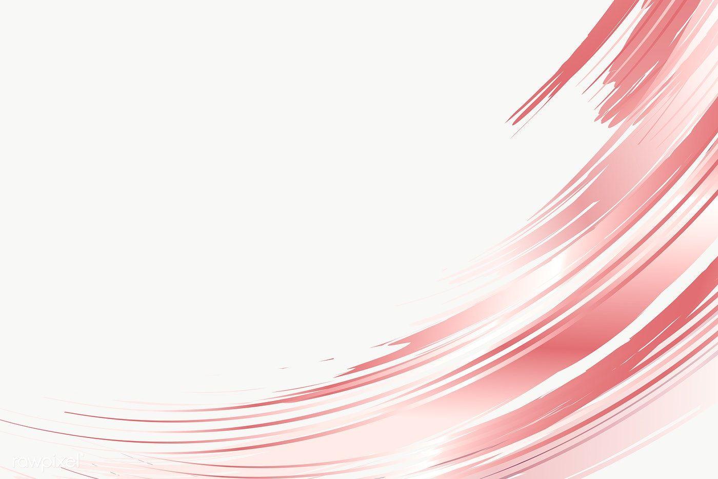 Download free png of Pink brush stroke design elem