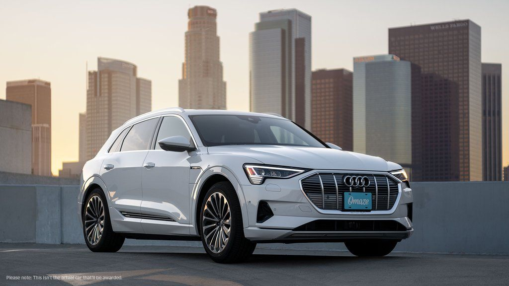 Win Your Very Own 2020 Audi etron® Prestige and 20,000