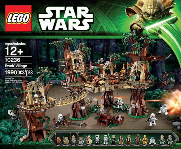 LEGO Star Wars Ewok Village | Lego star wars, Lego star and Legos