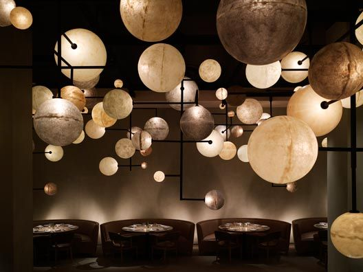 Gorgeous lighting at the Pump Room, here in Chicago.
