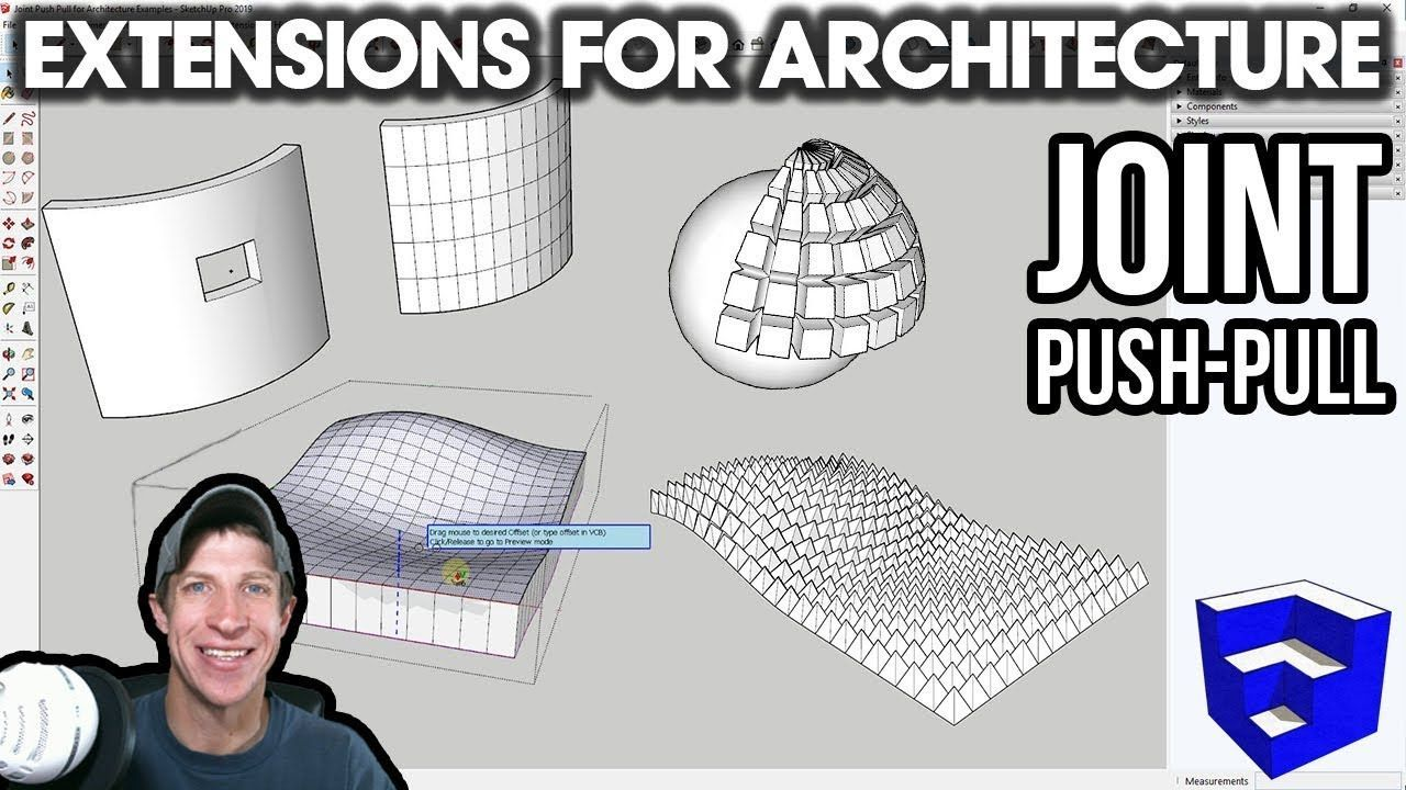 Sketchup Extensions For Architecture Push Pull Curved Surfaces