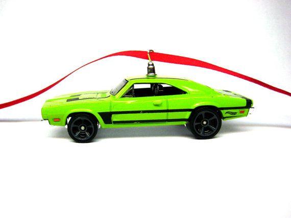 1969 Dodge Charger 500 Mopar Muscle Car Christmas Ornament