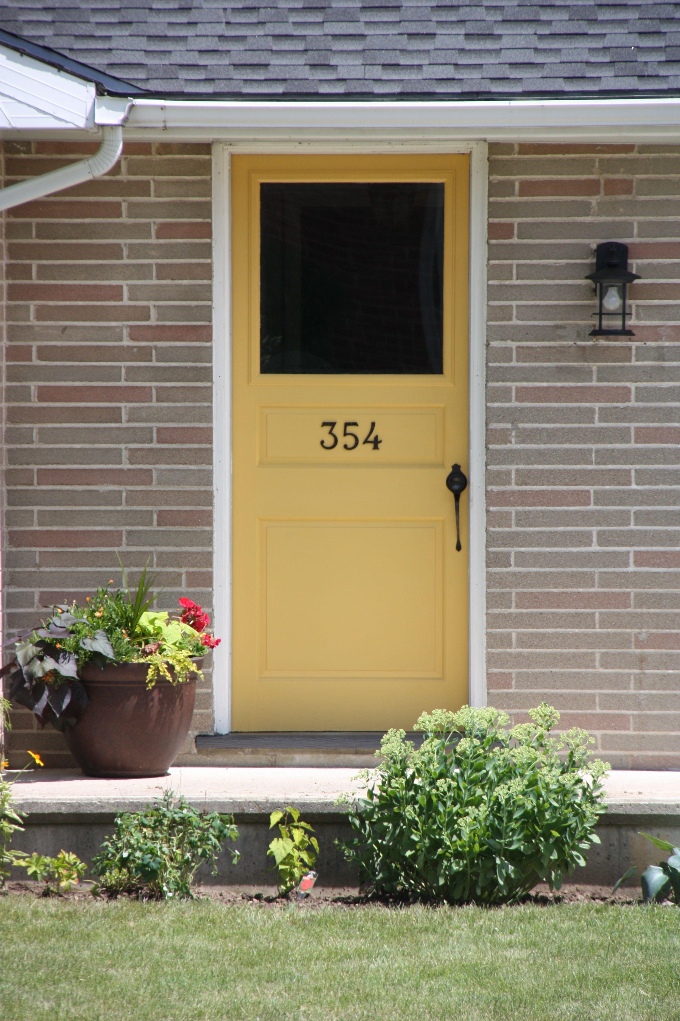 Perfect Color For My Front Door Bm Stuart Gold
