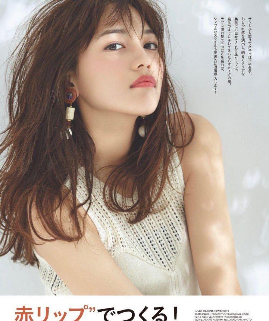 川口春奈#可愛い#かわいい   kawaguchi haruna in 2018   pinterest
