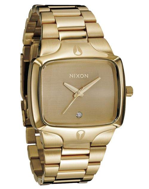 cf5cd79b9c65a Nixon Relógio The Player (Dourado)