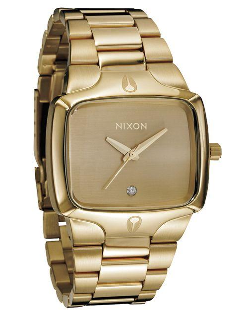 8d7fa3d14c Nixon Relógio The Player (Dourado)