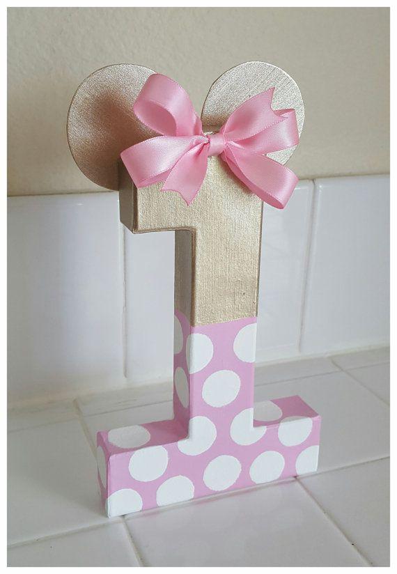 Minnie ratón inspirado photo prop, minnie mouse decoraciones de cumpleaños, accesorios de la foto de la edad, papel mache número 8, prop de la foto, fotos de cumpleaños