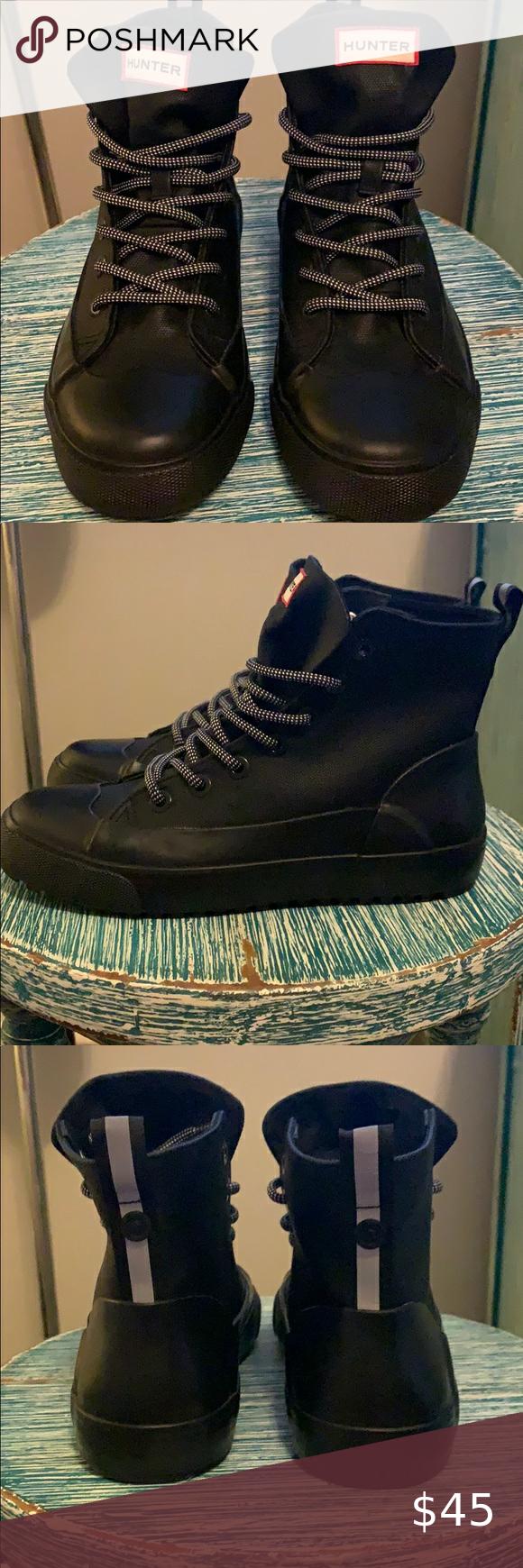 SOLD**HUNTER Shoes by Target Waterproof