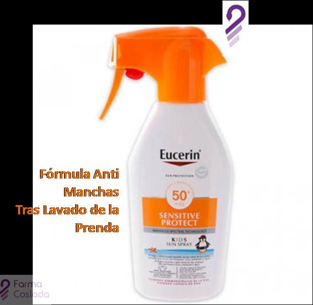 Eucerin Sun Protection Sensitive Protect Kids Sun Spray 300ml Quemaduras Solares Radiaciones Ultravioletas Spray