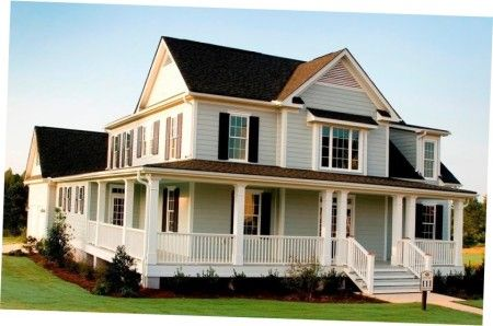 Colonials with Wrap around Porches | Front Porch Designs For Split ...