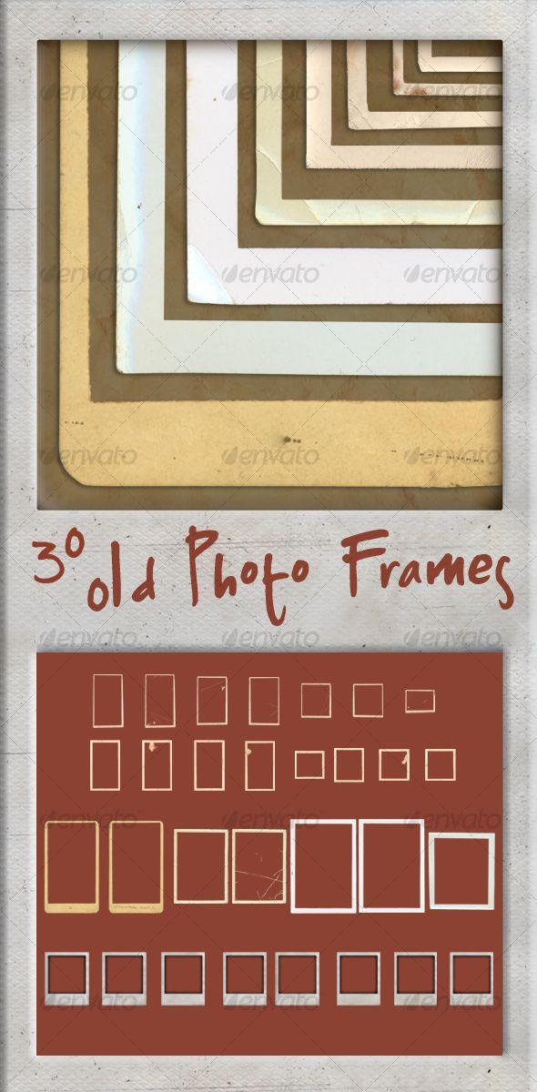 30 Old Photo Frames