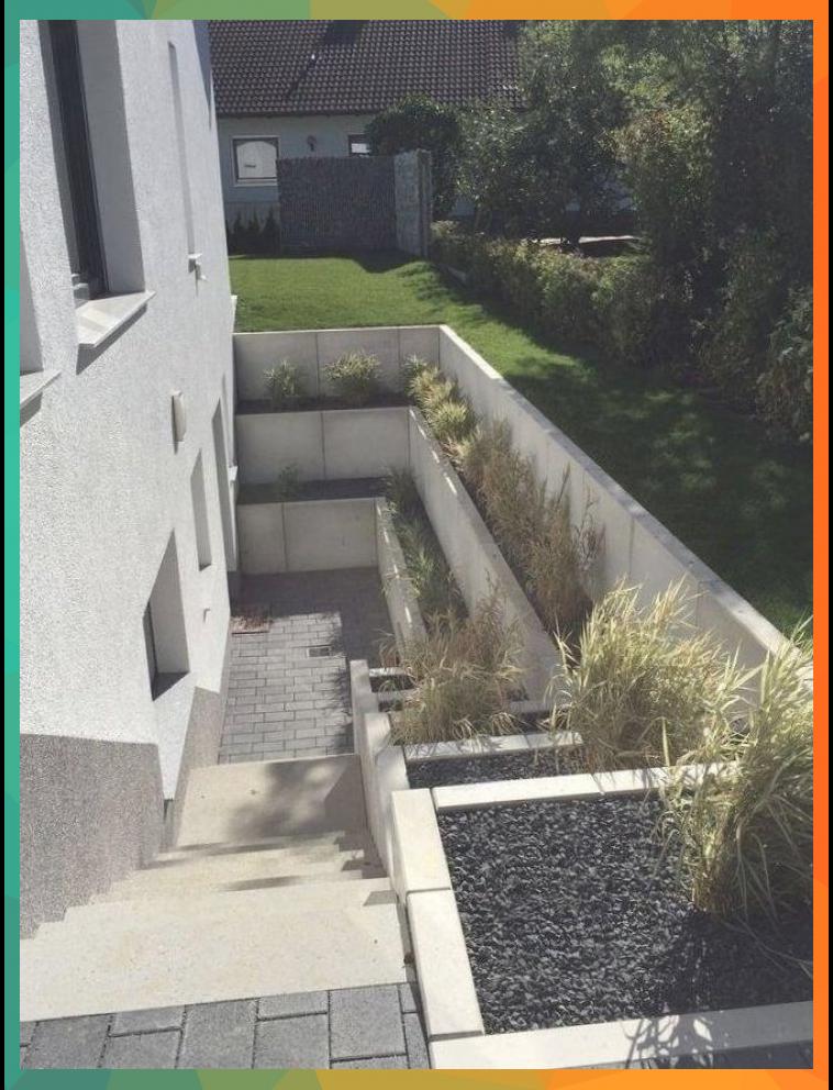 Gartengestaltung Garten Und Landschaftsbau Filderstadt Galabau Garden Stairs Rooftop Terrace Design Backyard Landscaping